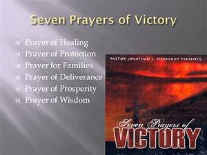 Seven Prayers Of Victory - Prayer Of Wisdom - Part 7 Of 8