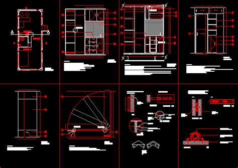 residence container  autocad cad   kb