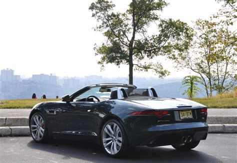 Jaguar F Type S Convertible by Capsule Review 2014 Jaguar F Type V6s Convertible The