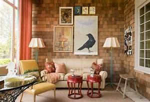 Apartments entrancing small living room with retro style for Interior decor bloggers