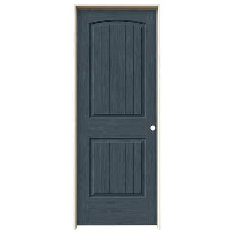 home depot jeld wen interior doors jeld wen 30 in x 80 in santa fe denim stain left