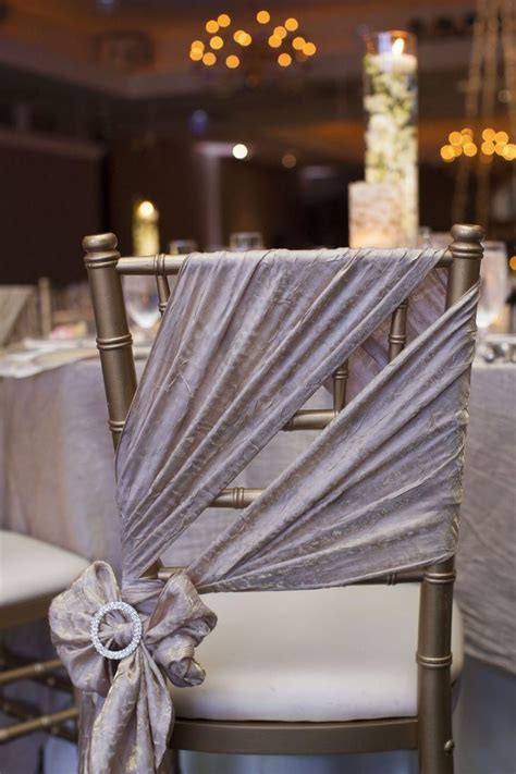 Venues And Decor Wedding Wedding Chair Decorations