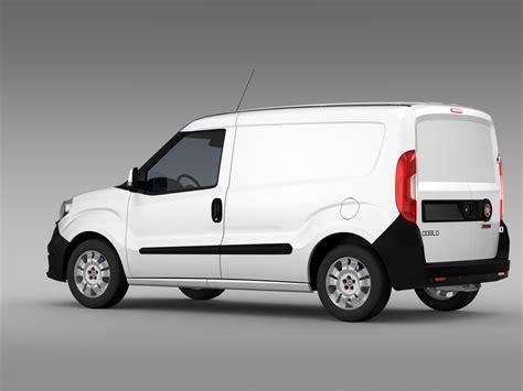 Fiat Doblo Cargo 263 2015 3d Model Flatpyramid