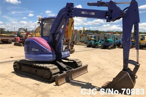 komatsu pcuu excavator  sale  model cjc  japanese  machinery
