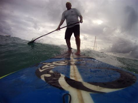 Beginning Stand Paddle Surfing Xtreme Geezer