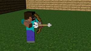 Minecraft Animation - Bow and Arrow Showcase - YouTube