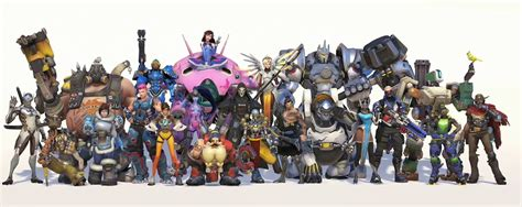 fun overwatch characters  scientific rankings
