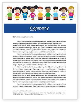 childhood brochure template design  layout