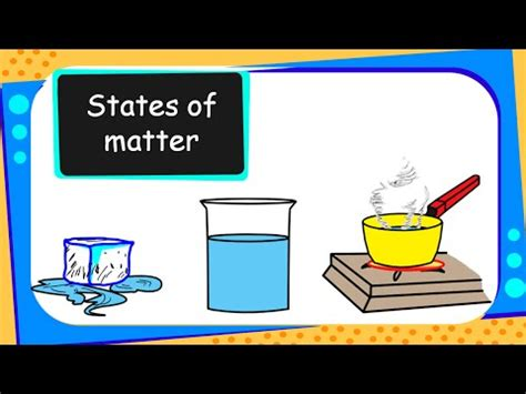 science   solid liquid  gas states  matter