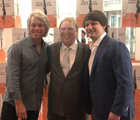 Raiders Owner Mark Davis Jon Bon Jovi Meet Downtown