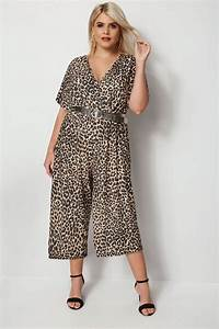 Bon Price Mode : combinaison jupe culotte l opard grande taille 44 64 ~ Eleganceandgraceweddings.com Haus und Dekorationen
