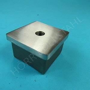 Vierkantrohr Edelstahl 40x40 : gel nder endkappe edelstahl 40x40x2 mm vierkantrohr ~ Eleganceandgraceweddings.com Haus und Dekorationen