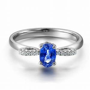 Unique sapphire and diamond engagement ring jeenjewels for Unique sapphire wedding rings