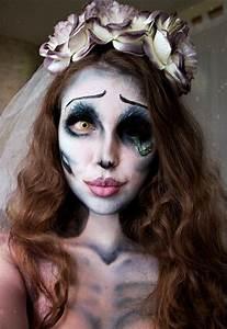 Braut Make Up Selber Machen : emily corpse bride kost m selber machen ideenf r halloween make up halloween halloween ~ Udekor.club Haus und Dekorationen