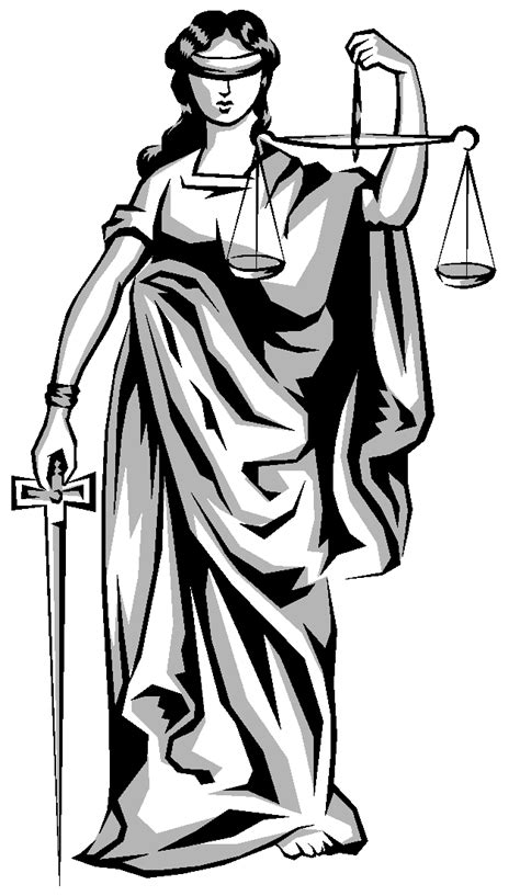 Lady Justice Clipart - Clipart Suggest