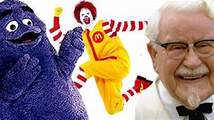 Top 5 Fast Food Mascots - YouTube