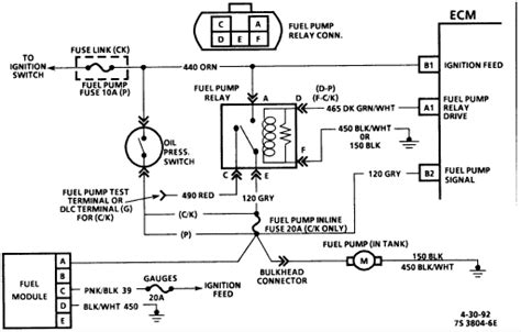 1992 Chevy Suburban Fuse Box Diagram by My 1993 Gmc K1500 Is Trouble Fuel To The Carb