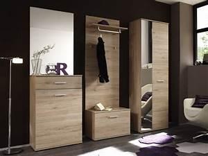 Eiche San Remo Hell : lin garderobe 5 teilig dekor eiche san remo hell ~ Orissabook.com Haus und Dekorationen