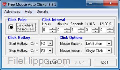 free mouse auto clicker 3 8 5 for pc windows filehippo