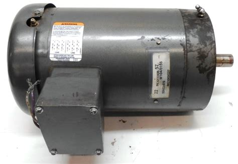 Industrial Ac Motor by Baldor Industrial Ac Motor 220 440 Volts 3 Phase 7 8