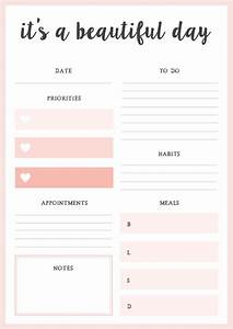 Free Printable Daily Planner Blessed Mess Life