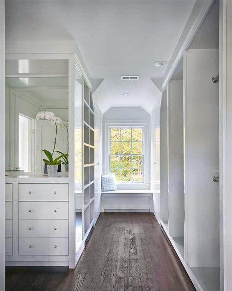 closet window seat  barrel ceiling design ideas
