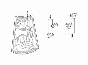 Ford Explorer Sport Trac Tail Light Assembly  Left  Lamps