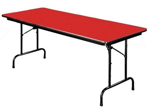 folding 8 foot table 8 foot laminate top folding table 3 4 particleboard