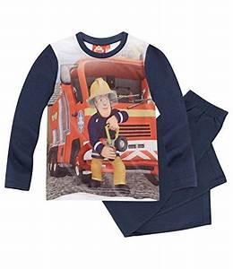 Feuerwehrmann Sam Bett : feuerwehrmann sam jungen pyjama schlafanzug ~ Buech-reservation.com Haus und Dekorationen