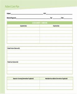 care plan templates 10 free word pdf format download With nursing care plan template word