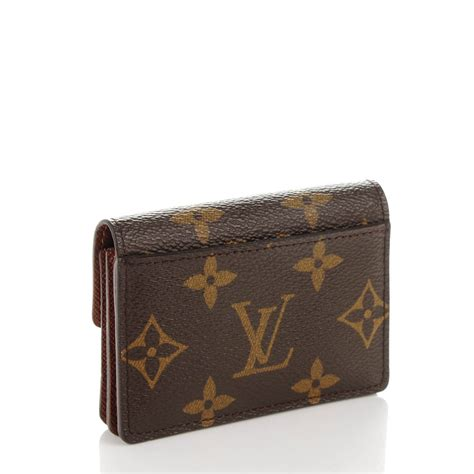louis vuitton monogram porte monnaie tresor wallet 155253