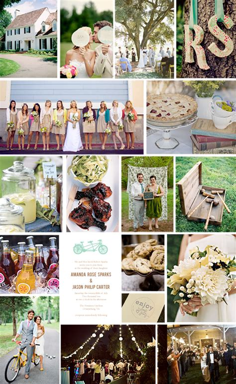 lq designs a backyard wedding on a budget love and