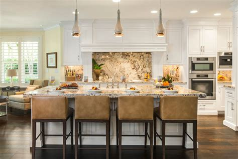 counter stool height Kitchen Contemporary with brown