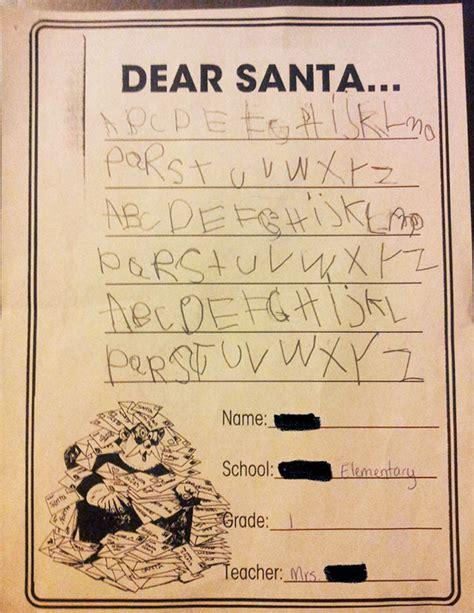 times kids totally nailed  letter  santa