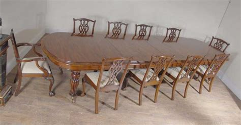 xl mahogany dining table set