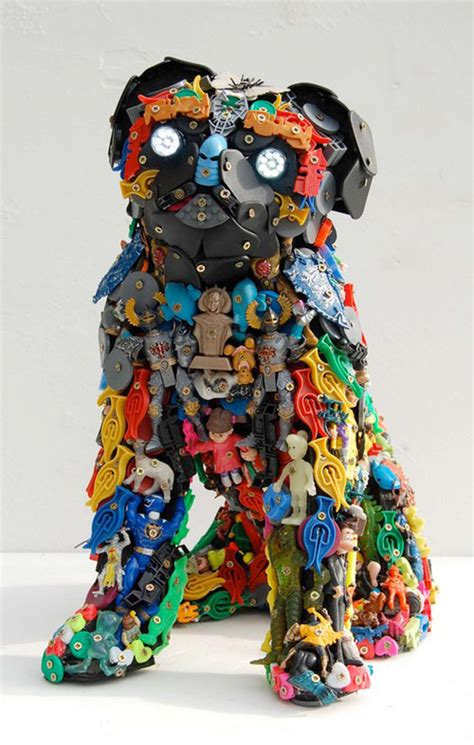 40 Terrific Works Of Art Made From Common Trash Noupe