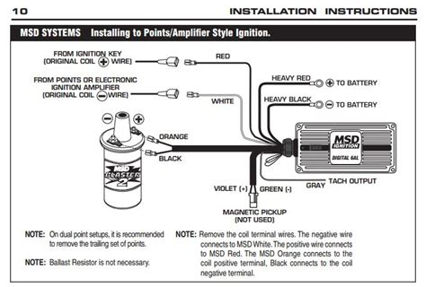 Msd Wiring Diagram by Intermittent Misses Msd Distributor Plugs Pelican