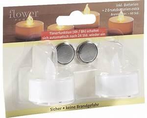 Led Teelichter Mit Timer : led teelichter mit timer 2 stk inkl batterie jetzt kaufen bei hornbach sterreich ~ Eleganceandgraceweddings.com Haus und Dekorationen