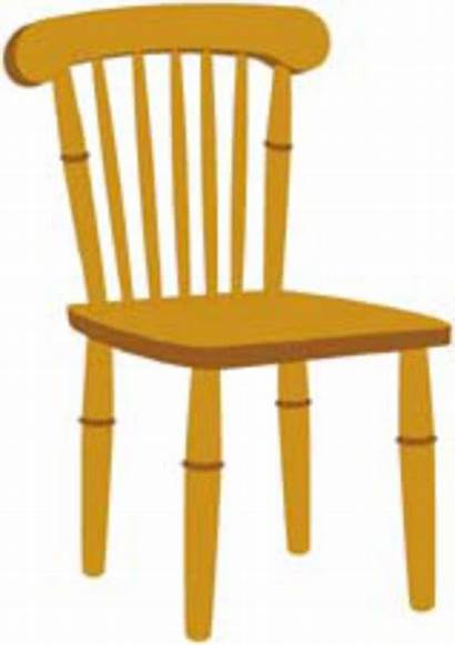 Chair Clip Clipart Chairs Cliparts Broken Clker
