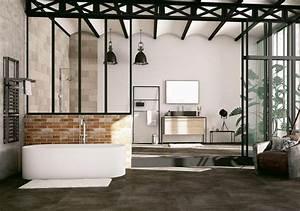 envie de salle de bain blog deco clem around the corner With les styles de meubles anciens 7 salle de bain industrielle inspiration