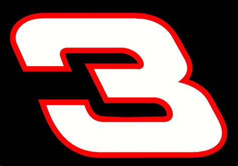 Dale Earnhardt Sr 3 Decal Sticker Buy 2 Get 3rd One Free