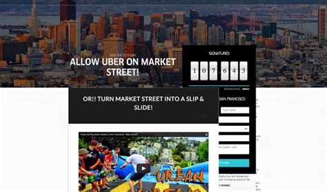 Uber's Petition Website Hacked To Redirect To Lyft