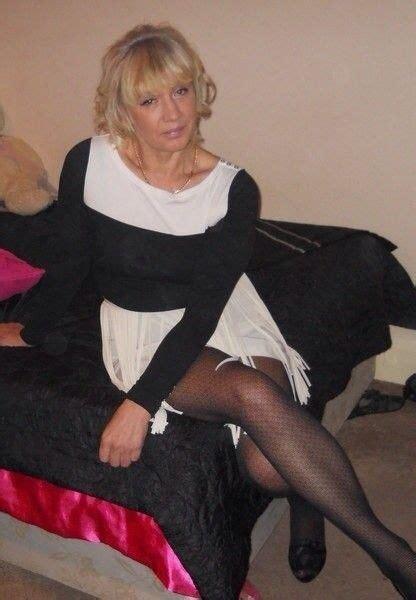Blonde Pantyhose Mature Mature Lingerie Lady