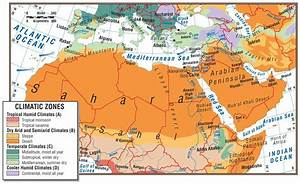 Climate Map Of Southwest Asia | Mexico Map
