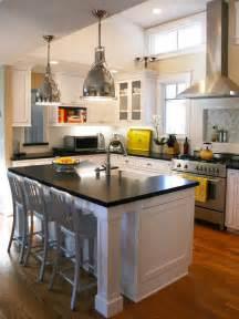 hgtv kitchen islands black and white kitchen island designers 39 portfolio hgtv home garden television
