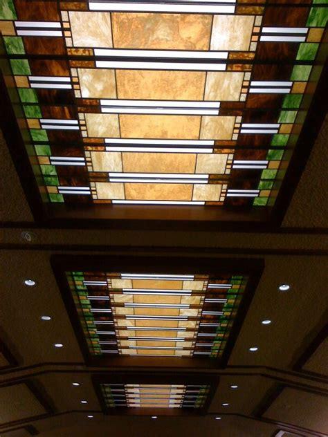 custom  prairie style ceiling laylight panels