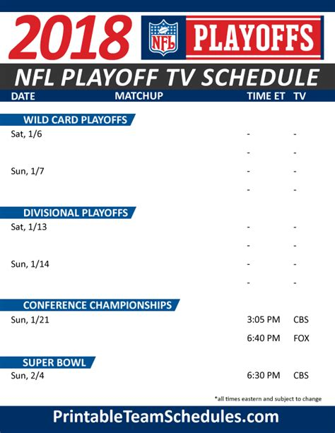 nfl playoff schedules  pack  nfl playoffs