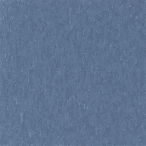 Armstrong Vct Tile Home Depot by Armstrong Imperial Texture Vct 12 In X 12 In Serene Blue