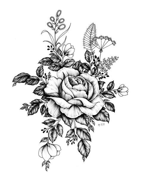 Pin by Ahmd Raaft on Draw   Pinterest   Tatuajes de rosas, Tatuajes de flores and Boceto de rosa