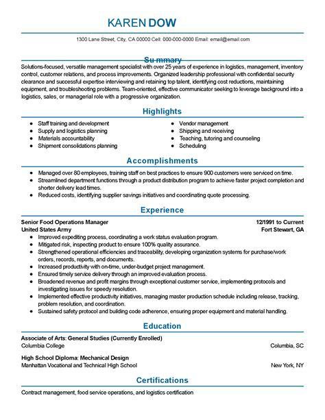 curriculum vitae template professional resume